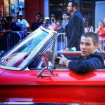 Nick Jonas Arrived in Style at MMVA 2015