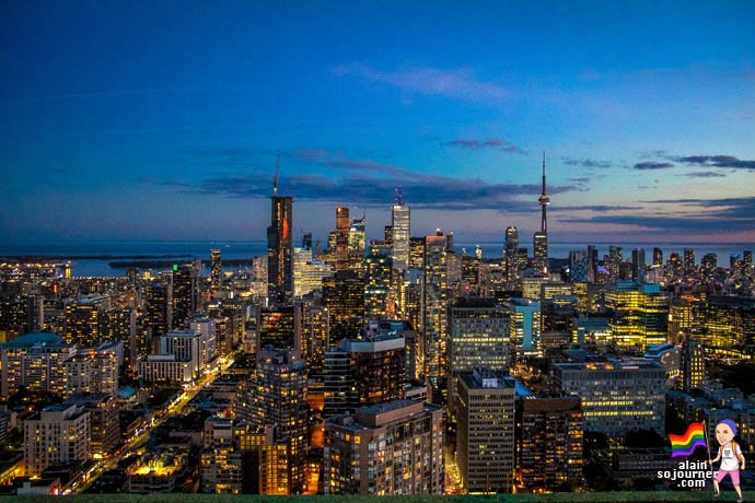 Panorama Lounge Skyline Toronto