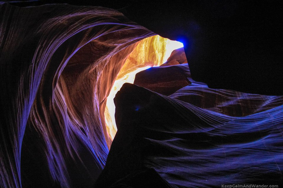 Antelope Slot Canyon in Page, Arizona.