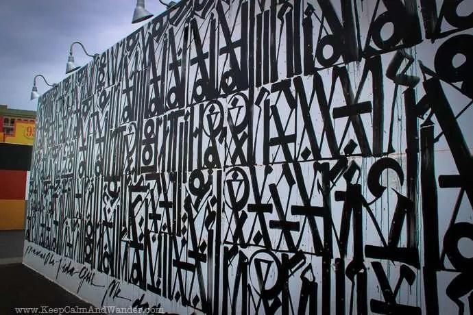 Murals at Coney island, Brooklyn, New York.