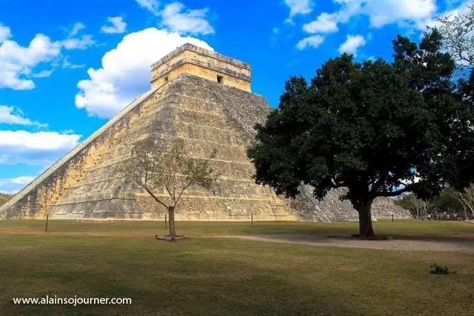 Chichen Itza Pyramid Mexico Kukulkan Cancun Tulum 17
