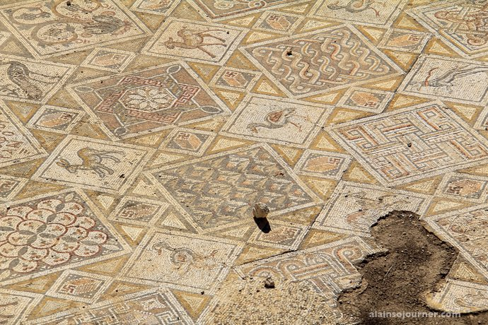 Church floor Jerash