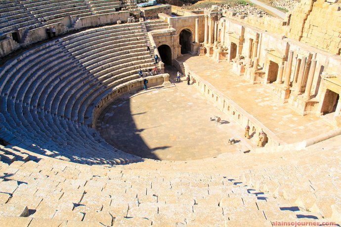 Jerash Roman Theater Amman Jordan