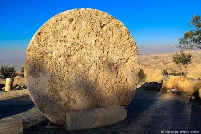 Mount Nebo Moses