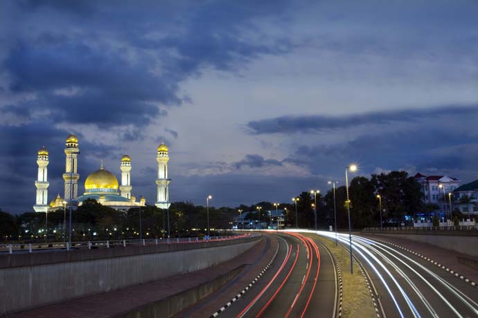 Things to do in Brunei Blue Mosque