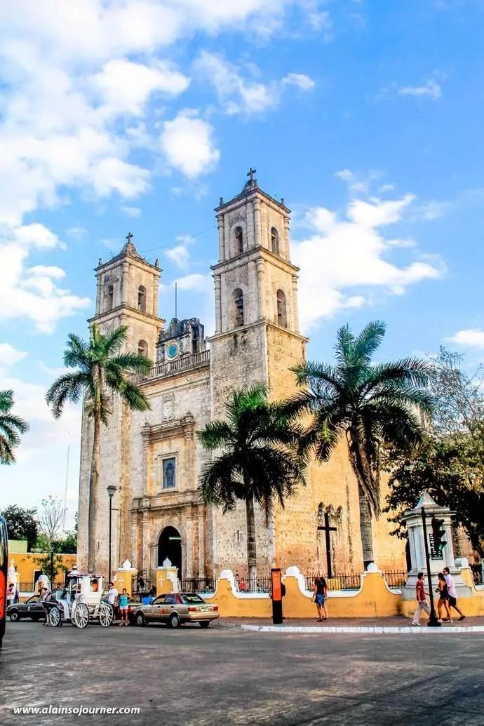 A Day in Valladolid in Yucatan, Mexico.