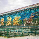 The Largest Glazed Nine Dragon Screen in China