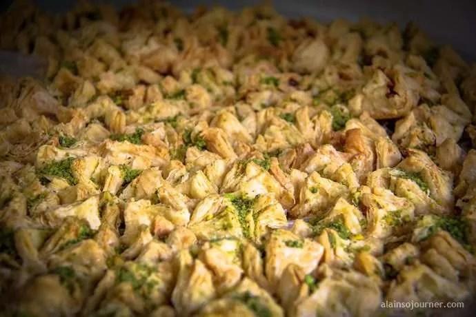 Baqlawah Jordan Dessert food cuisine
