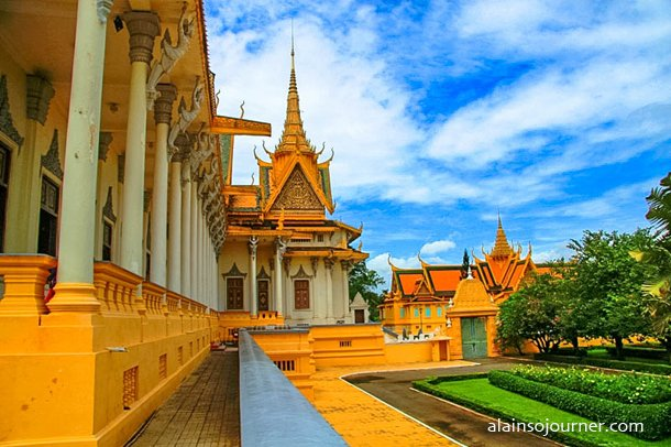 Grand Royal Palace Phnom Penh Cambodia 6