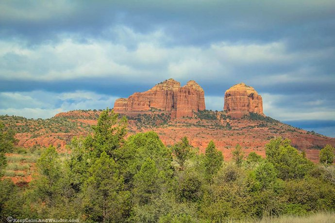 Spiritual vortex - Cathedral Rock in Sedona, Arizona.