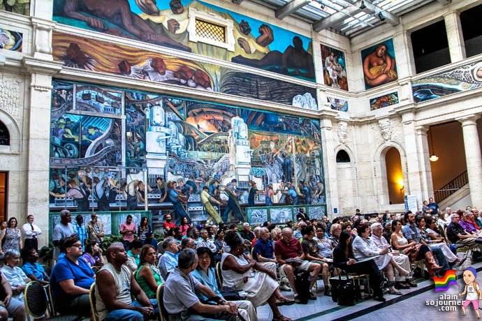 Diego Rivera Murals Detroit Institute of Arts DIA