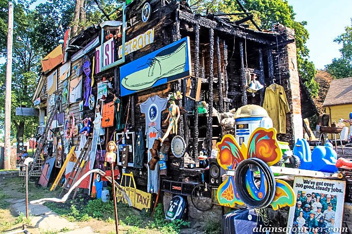 Heidelberg Project Detroit Tyree Guyton