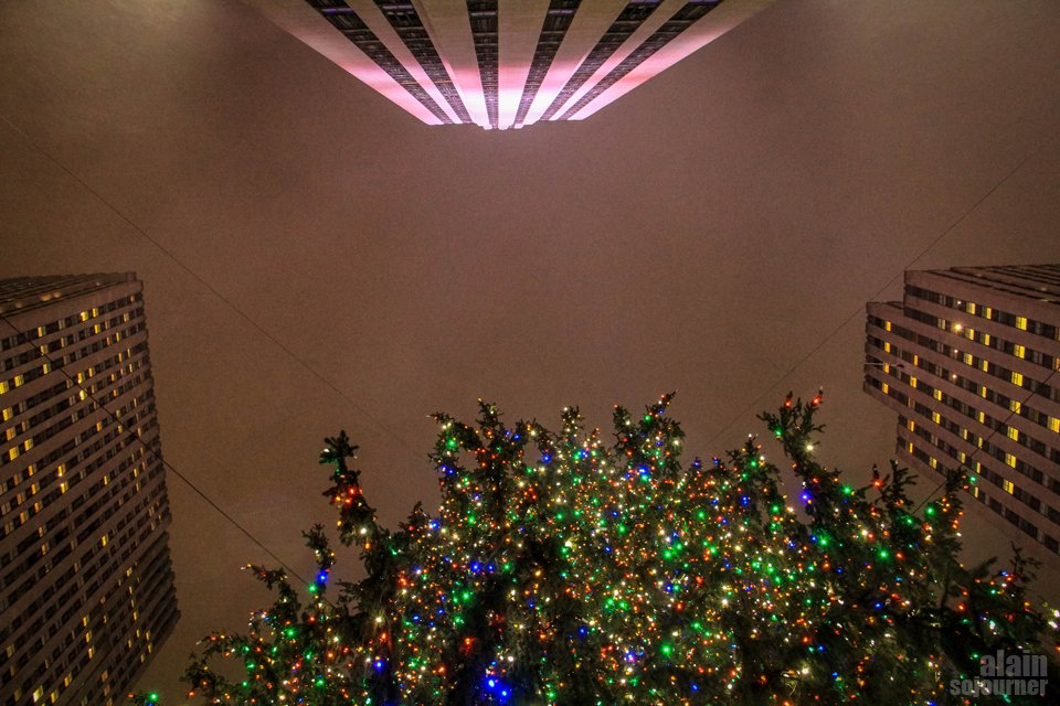 Christmas in New York.