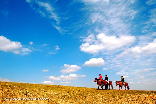 China Best Travel Photos Grasslands in Inner Mongolia Xilamuren