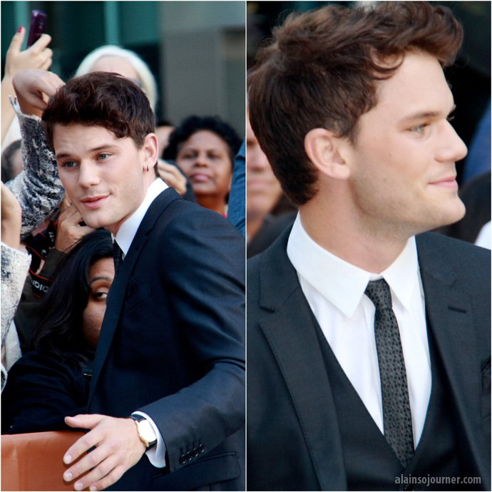 Jeremy Irvine TIFF 2013 The Railway Man