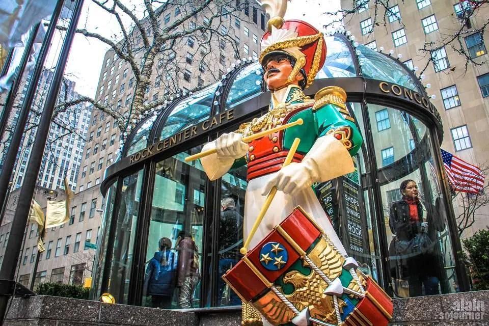 Christmas in New York / Rockefeller Center.