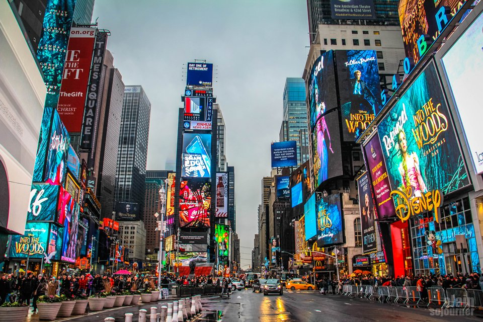 New York Christmas Time.Christmas In New York