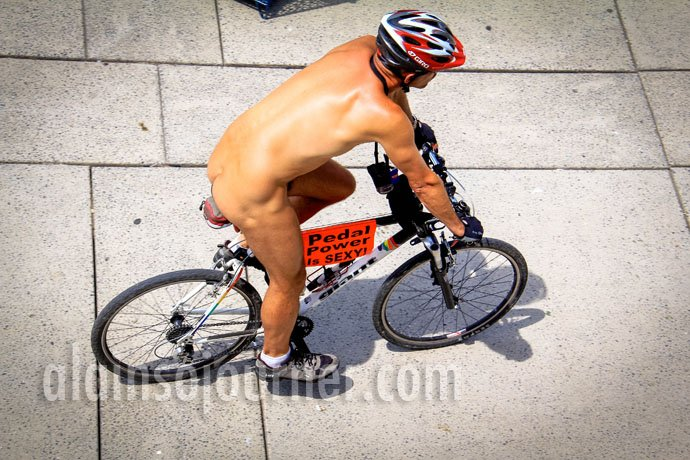 2013 World Naked Bike Ride Toronto WNBR 21