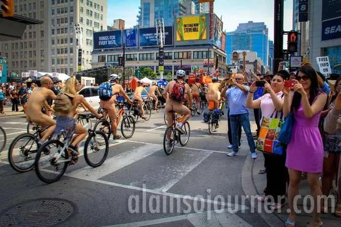 World Naked Bike Ride Toronto 2013 WNBR 4