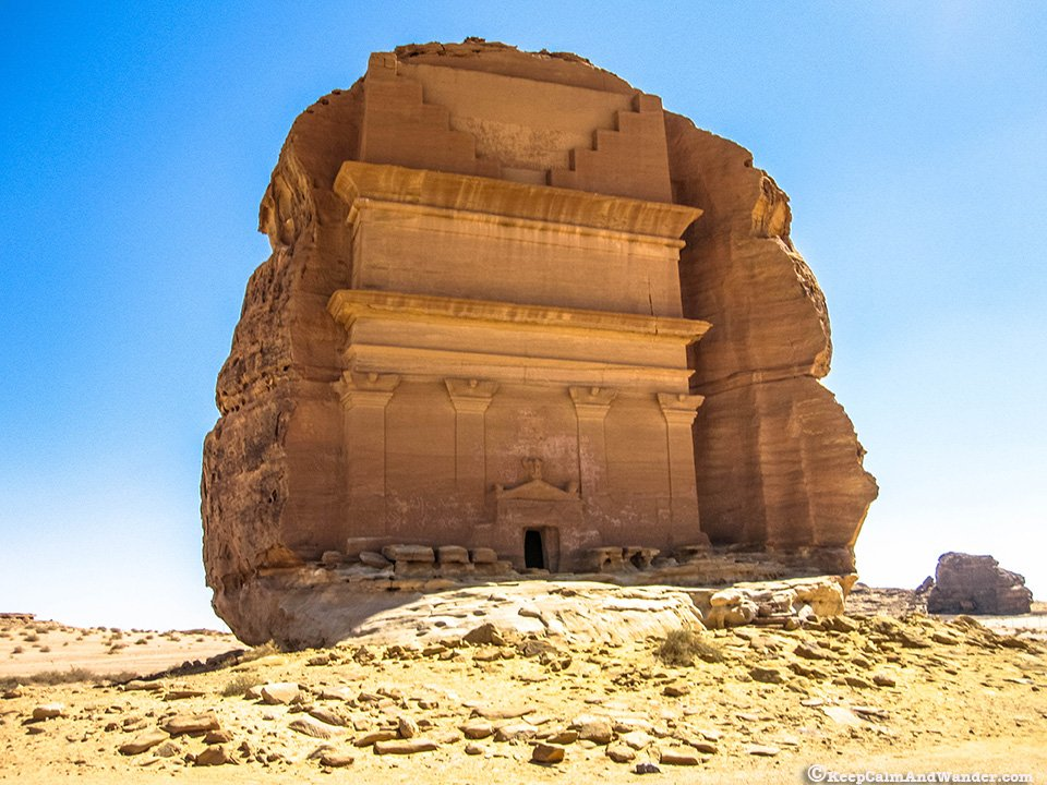 Al Farid / Al Fareed at Madain Saleh, Saudi Arabia.