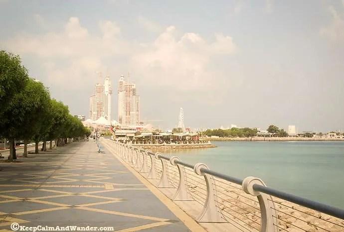 Corniche, Abu Dhabi, UAE.
