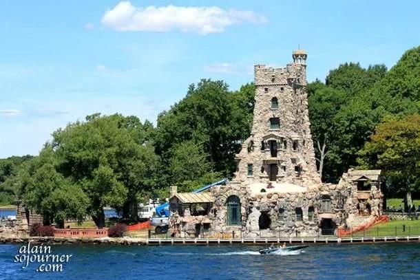 Bold Castle is USA's version of Taj Mahal of India.