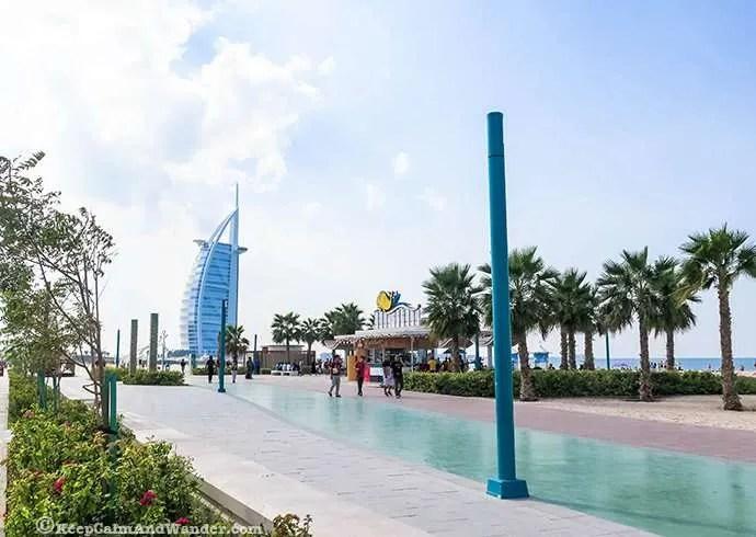 Burj Al Arab Dubai Beach.