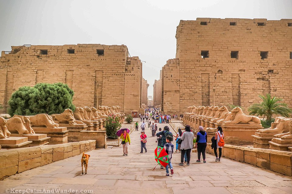 Karnak Temple in Luxor is the World's Largest Open-Air Museum