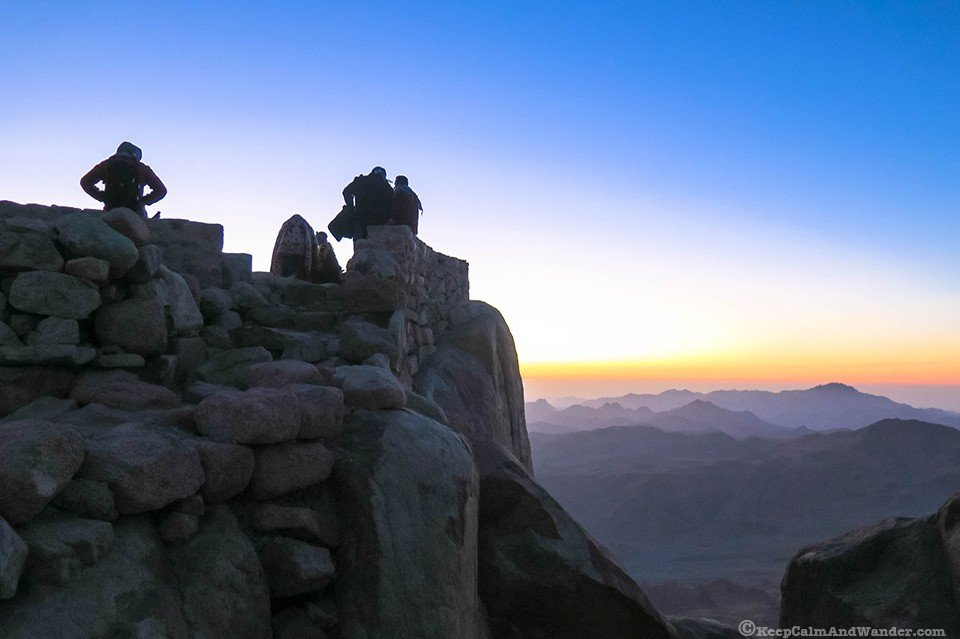 mountain where Moses climbed Egypt Mount Sinai