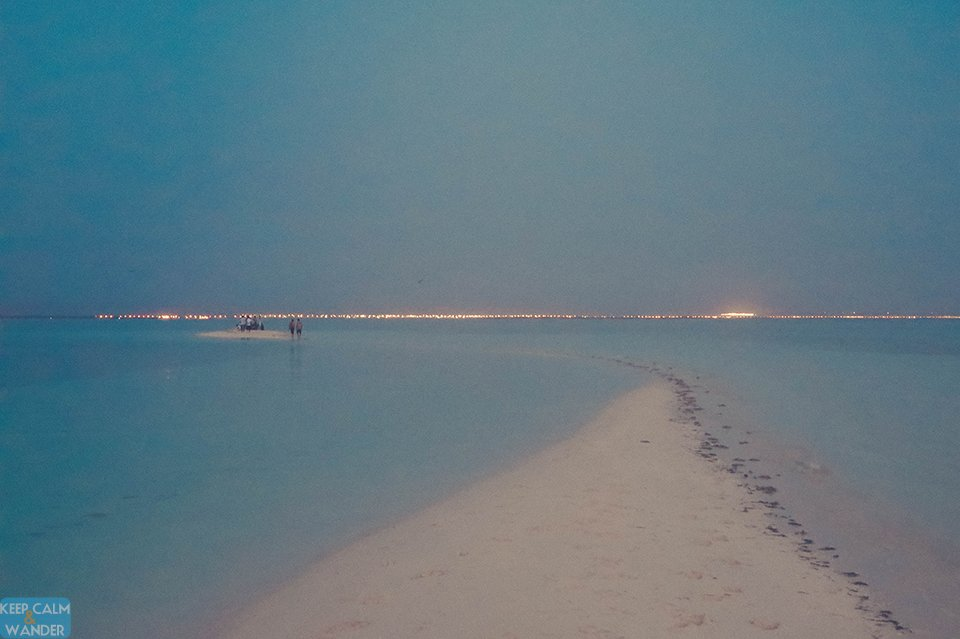 Saudi Arabia's White Beach Island.