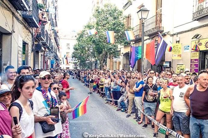 Carrera de Tacones 2016 Madrid Orgullo (MADO 2016)