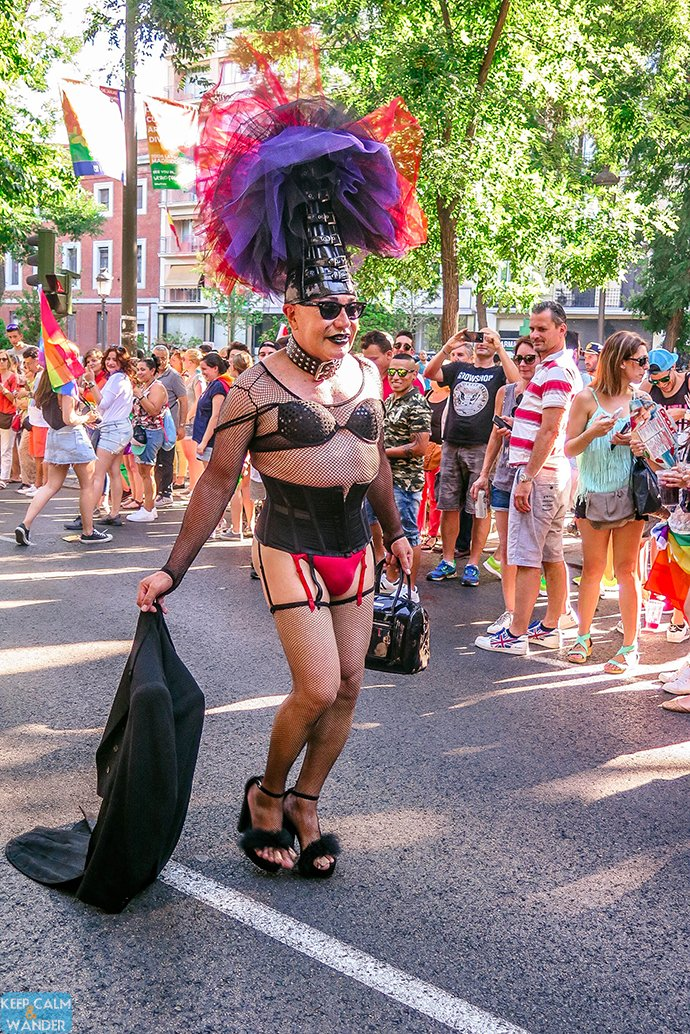 Madrid Pride Parade - Madrid Orgullo 2016 Manifestacion