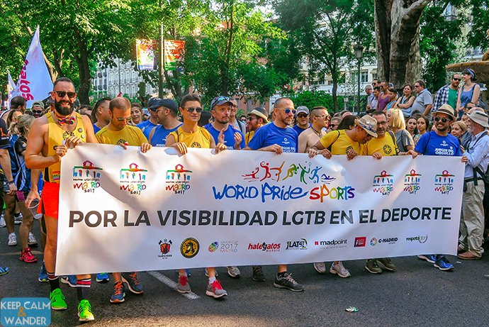 Madrid Pride Parade 2016 - Madrid Orgullo Manifestacion