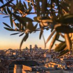 Madrid Sunset from Circulo de Bellas Artes