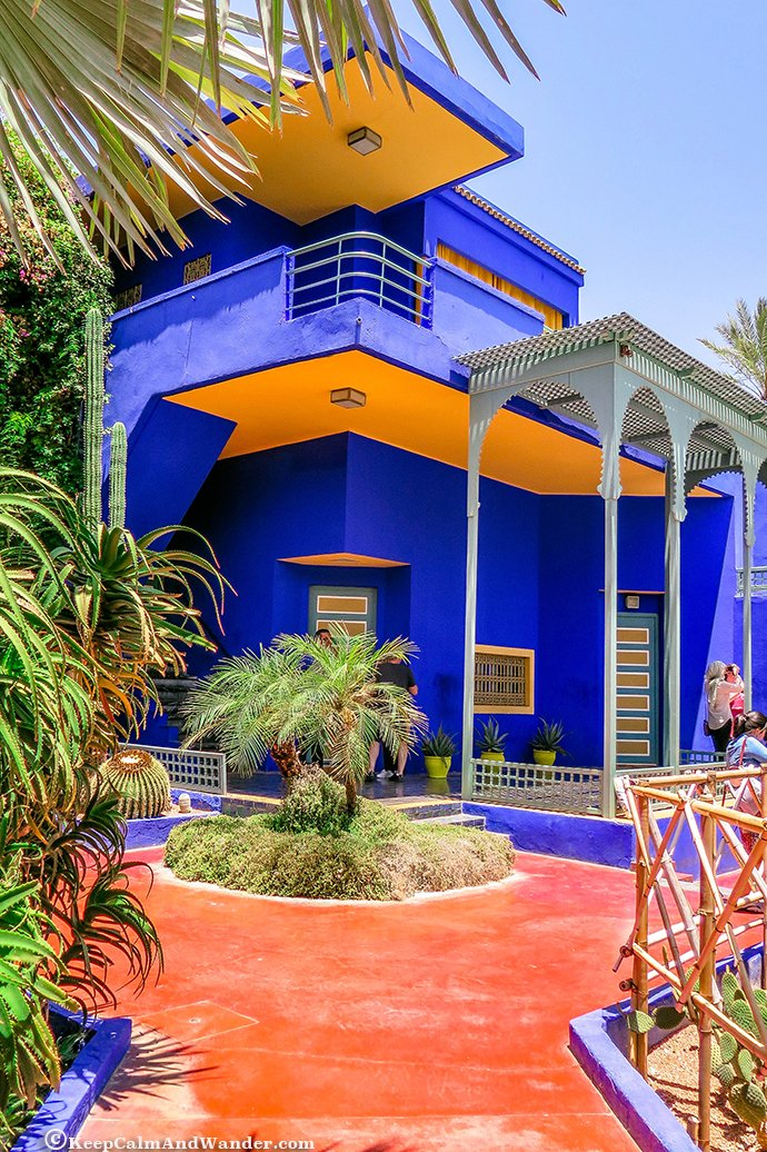 majorelle garden in marrakech here lies yves st laurent morocco - Majorelle Garden