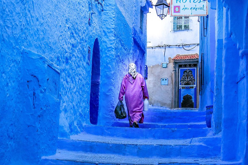Do You Know What I Did last Summer? I visited Chefchaouen, Morocco.