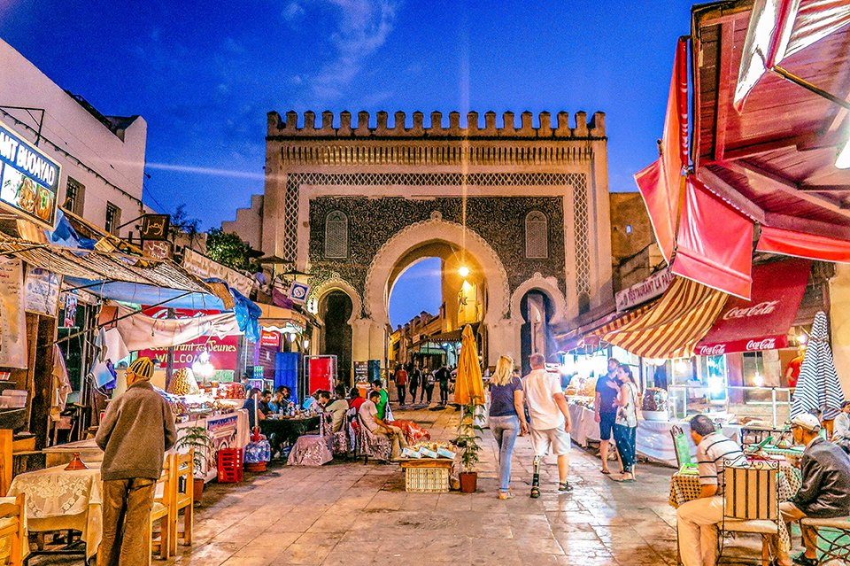 Do You Know What I Did last Summer? I visited Fez, Morocco.