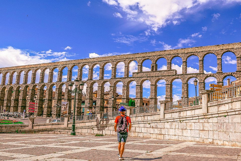 Do You Know What I Did last Summer? I visited Segovia, Spain!