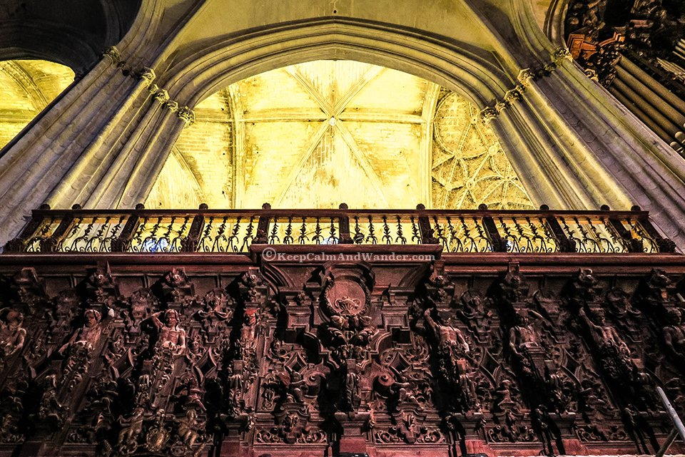 """Catedral de Sevilla (Seville Cathedral) is also known as """"The Cathedral of St. Mary of the See."""" (Spain)"""