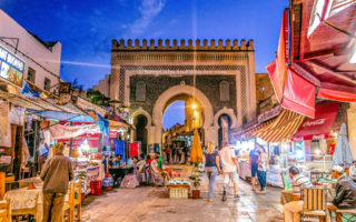Bab Boujloud - The Gateway to the Medina in Fes
