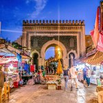 Bab Boujloud – The Gateway to the Medina in Fes