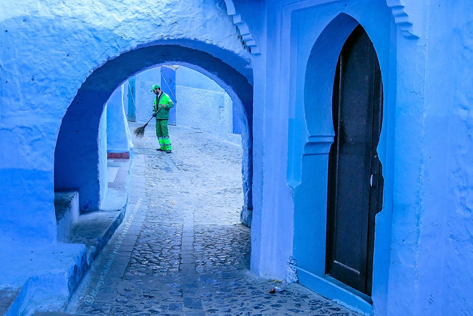 Chefchaouen - Morocco's Most Photogenic Blue City.
