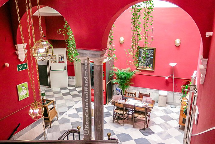 Sevilla Oasis Backpackers Palace Hostel is the Best in the World.