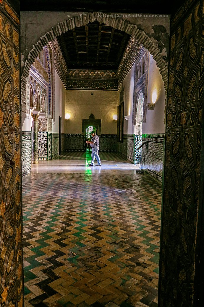 Time Stands Still at Seville Real Alcazar (Spain).