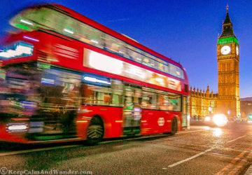 London's BigBen at Night Shines Bright (England).