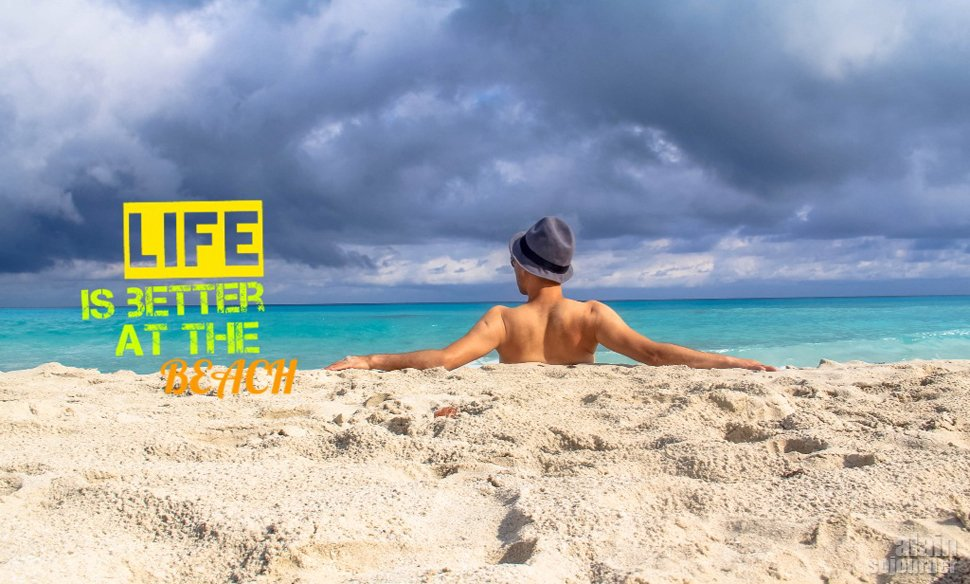 Travel Quote for Beach Lover