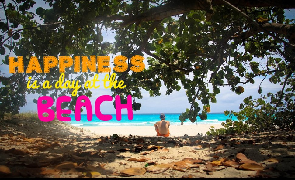 Life is better at the Beach / Travel Quote
