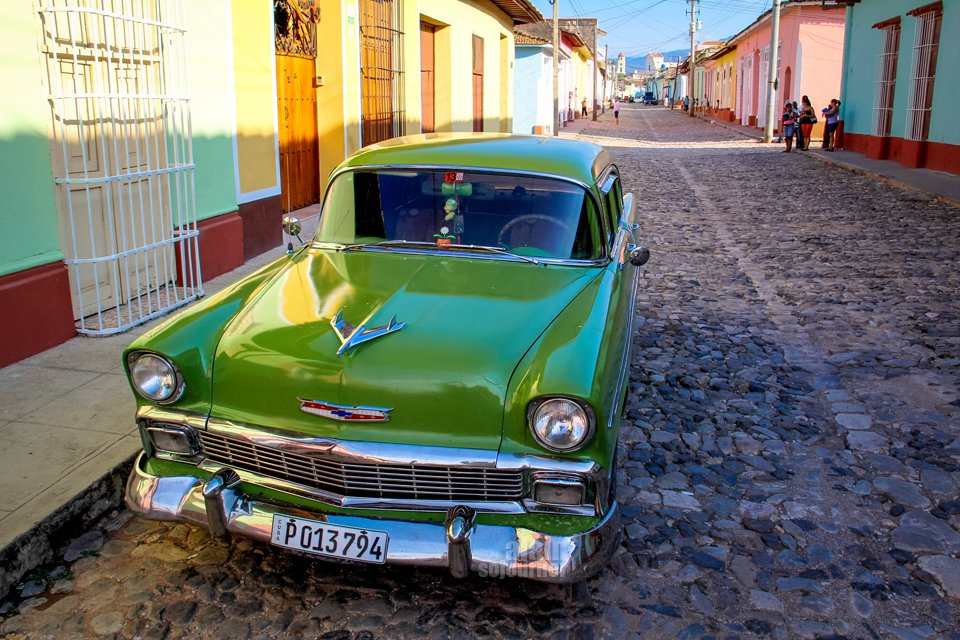 Things to do in Cuba: Ride a classic car.
