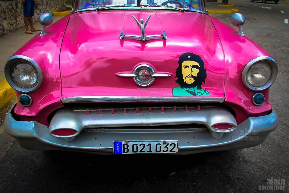 classic car Cuba Che Guevarra Things to do in Cuba:
