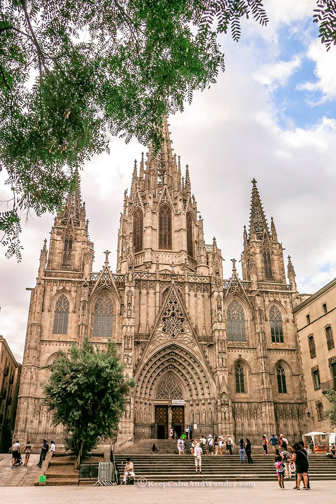 Step back in Time at Barri Gotic (Barcelona, Spain)